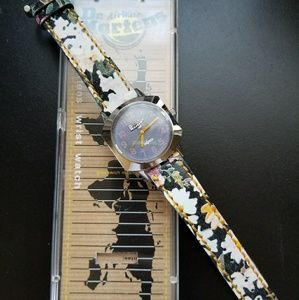 Dr. Martens vintage flower print watch